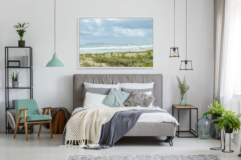 Beach Wall Art Bedroom Framed ...